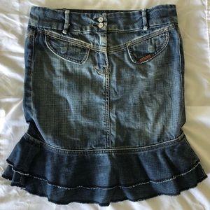 7 for all mankind Denim Skirt Size 26
